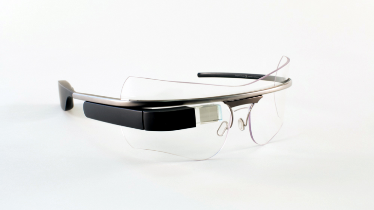Safety Shield and RX Insert for Google Glass