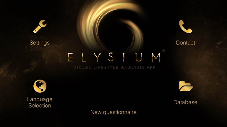 New ELYSIUM Visual Lifestyle Analysis App